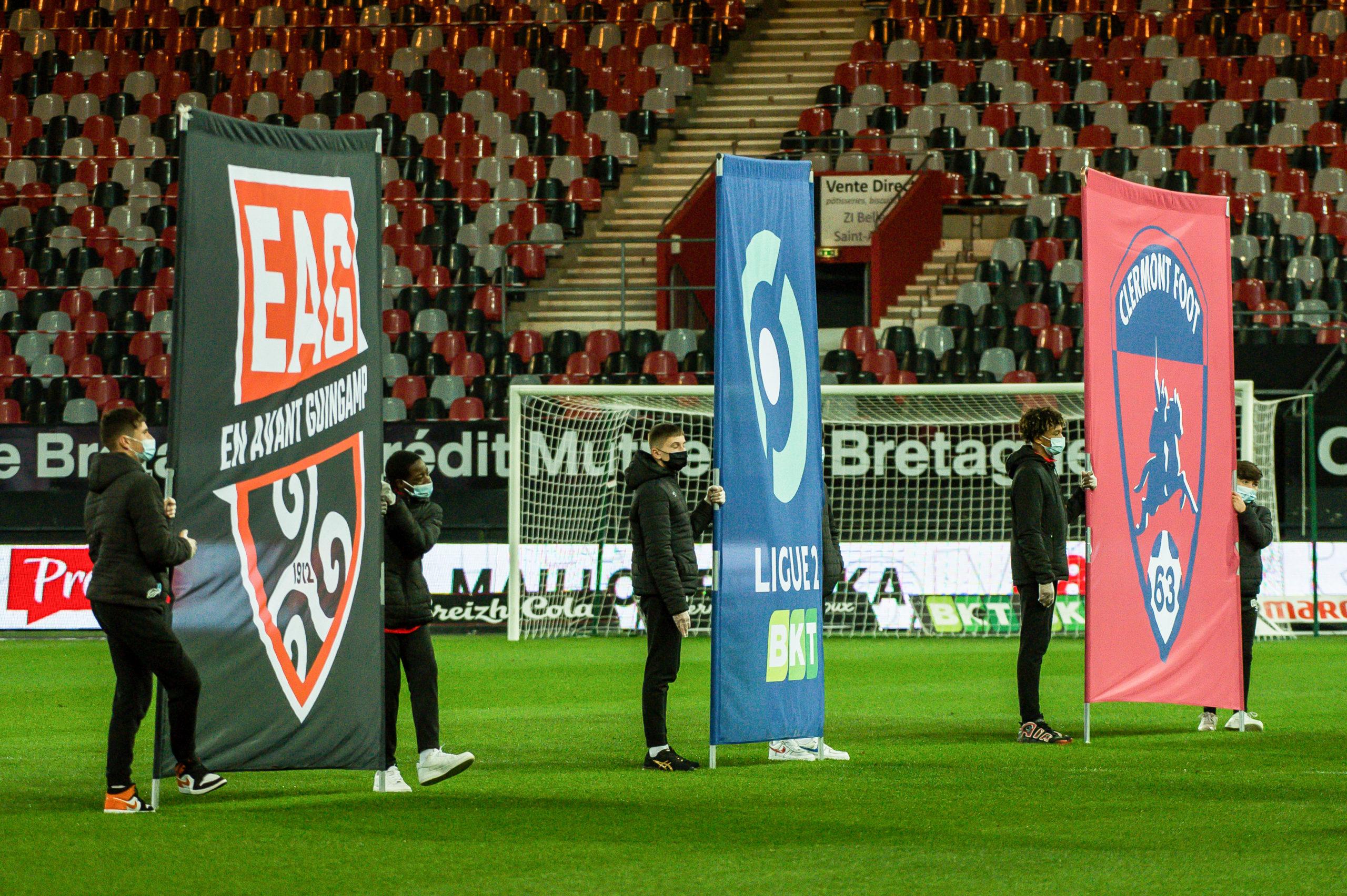 EA Guingamp Clermont Foot 63 0 5 J28 Ligue 2 BKT EAGCF63 _PAS8899