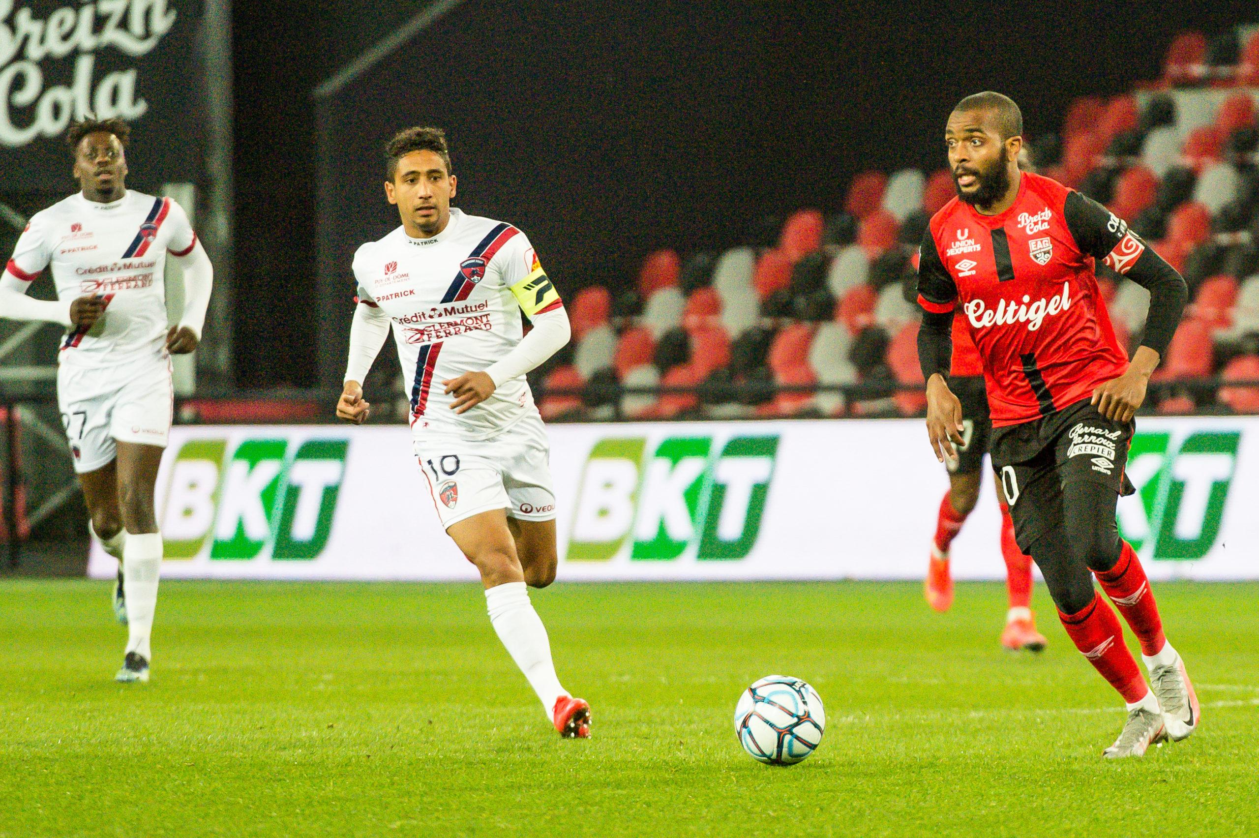EA Guingamp Clermont Foot 63 0 5 J28 Ligue 2 BKT EAGCF63 _PAS8930
