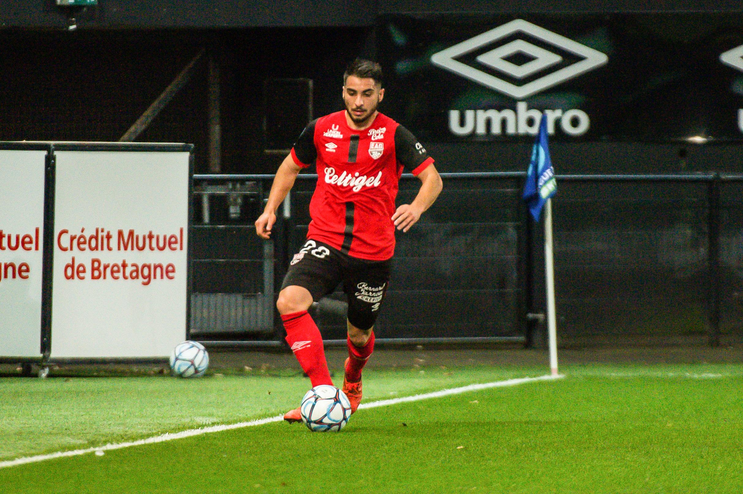 EA Guingamp Clermont Foot 63 0 5 J28 Ligue 2 BKT EAGCF63 _PAS9078-2