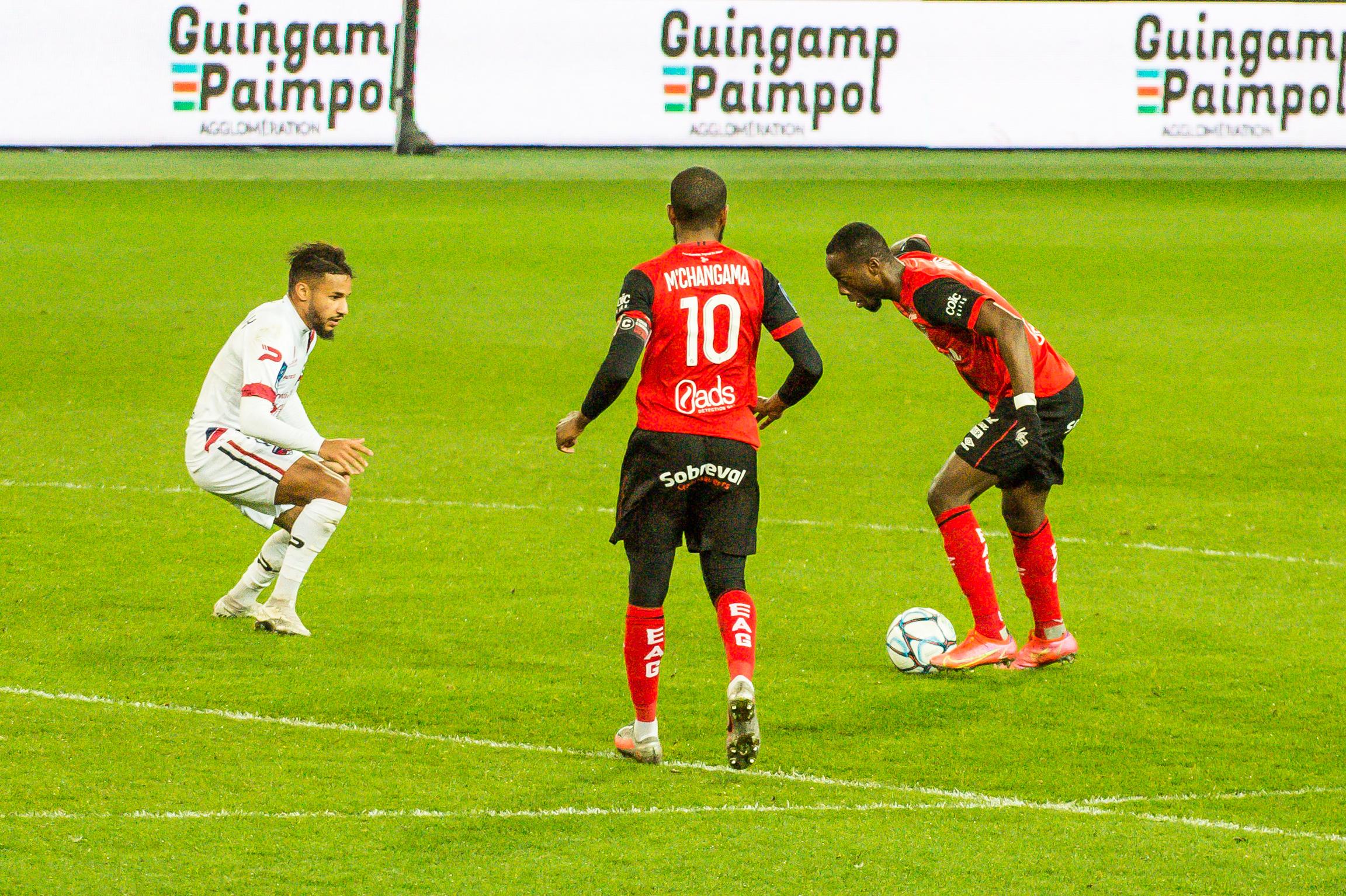 EA Guingamp Clermont Foot 63 0 5 J28 Ligue 2 BKT EAGCF63 _PAS9271