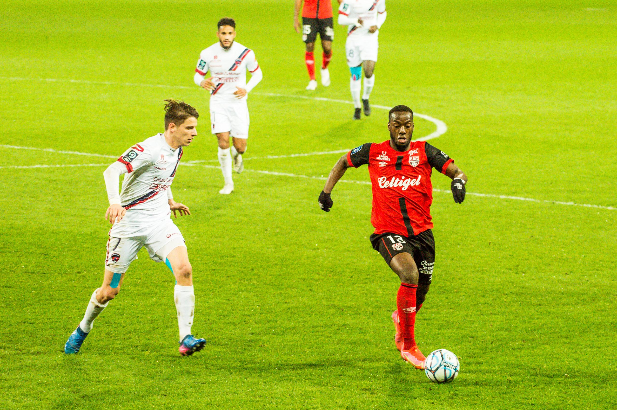EA Guingamp Clermont Foot 63 0 5 J28 Ligue 2 BKT EAGCF63 _PAS9287