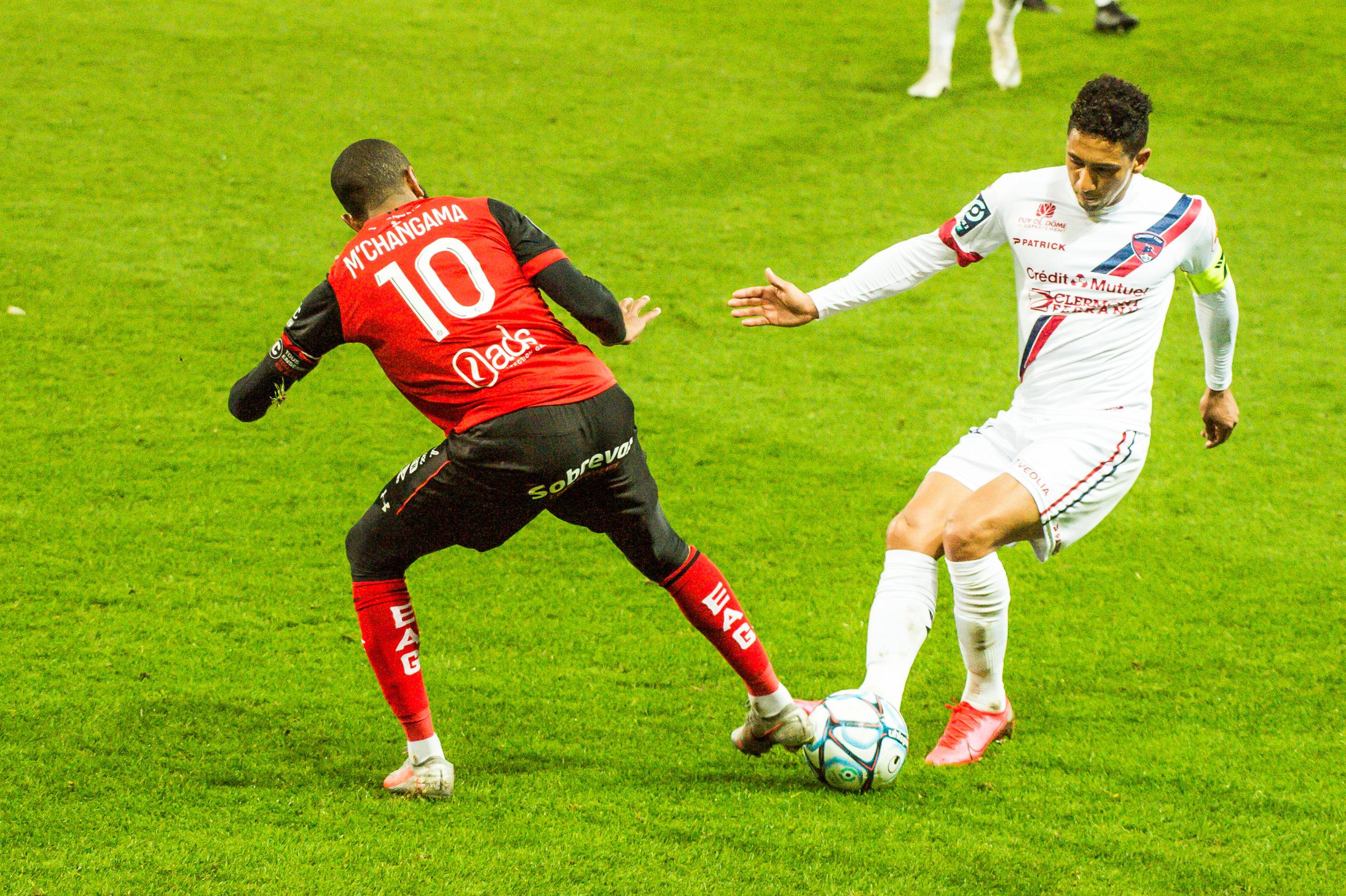 EA Guingamp Clermont Foot 63 0 5 J28 Ligue 2 BKT EAGCF63 _PAS9305