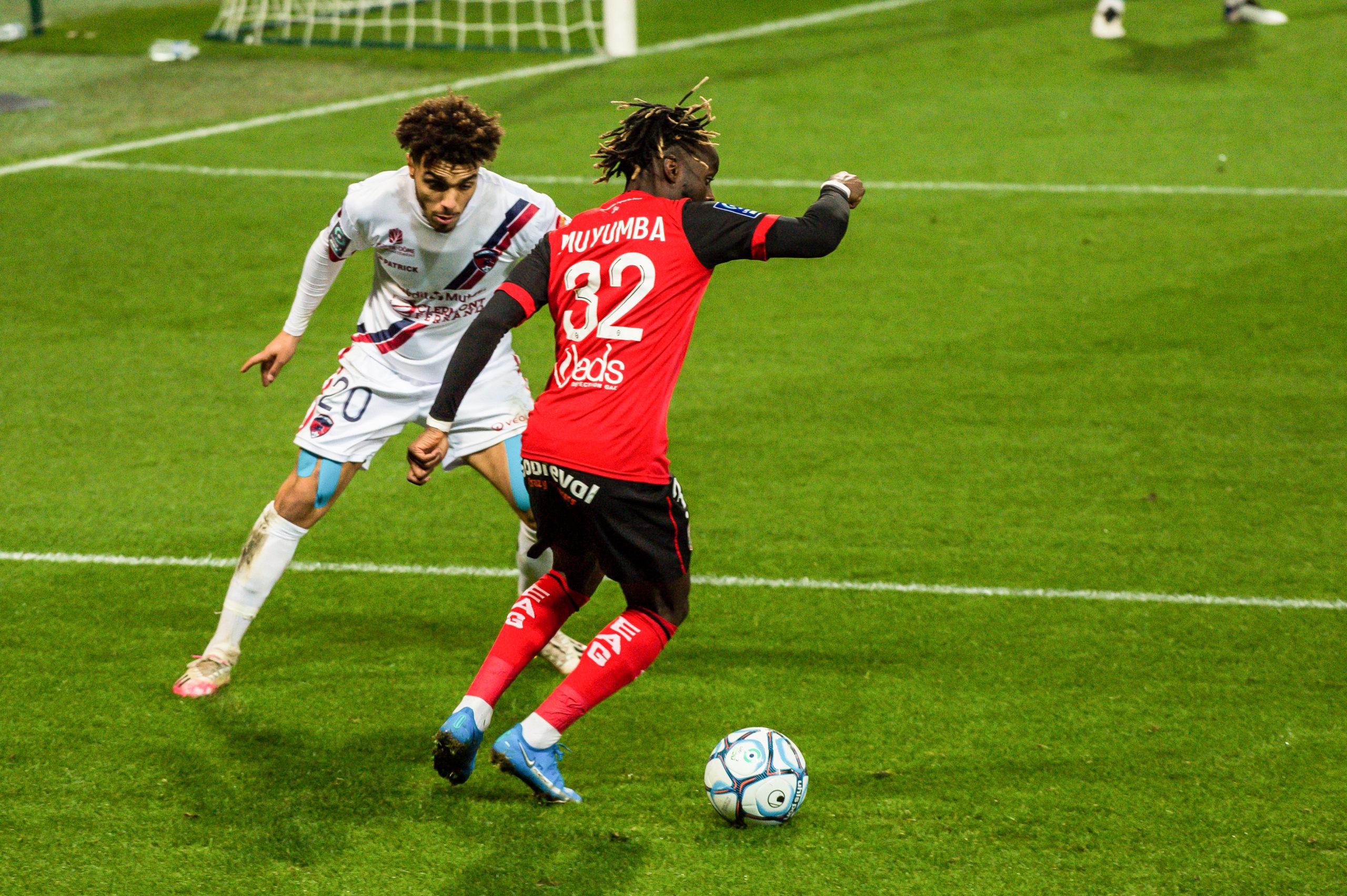 EA Guingamp Clermont Foot 63 0 5 J28 Ligue 2 BKT EAGCF63 _PAS9369