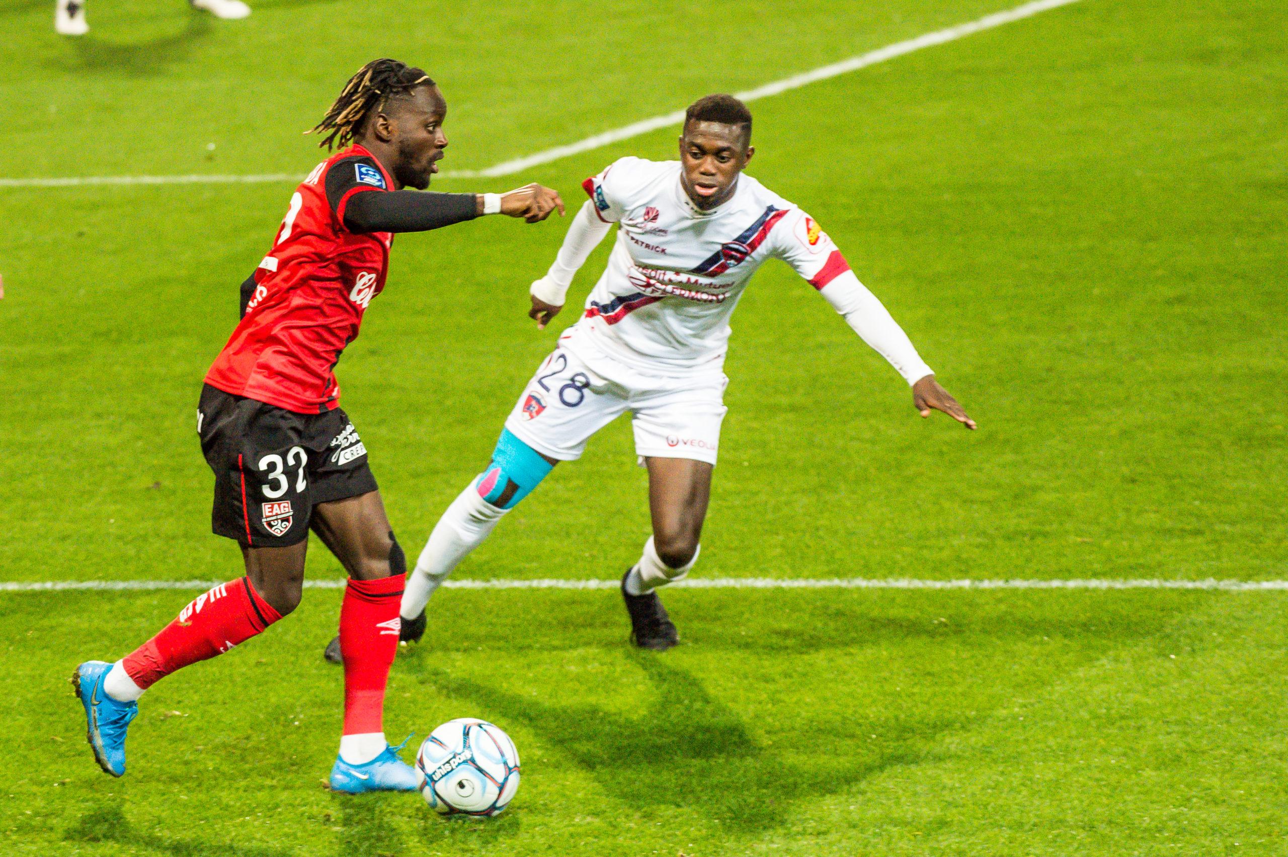 EA Guingamp Clermont Foot 63 0 5 J28 Ligue 2 BKT EAGCF63 _PAS9372