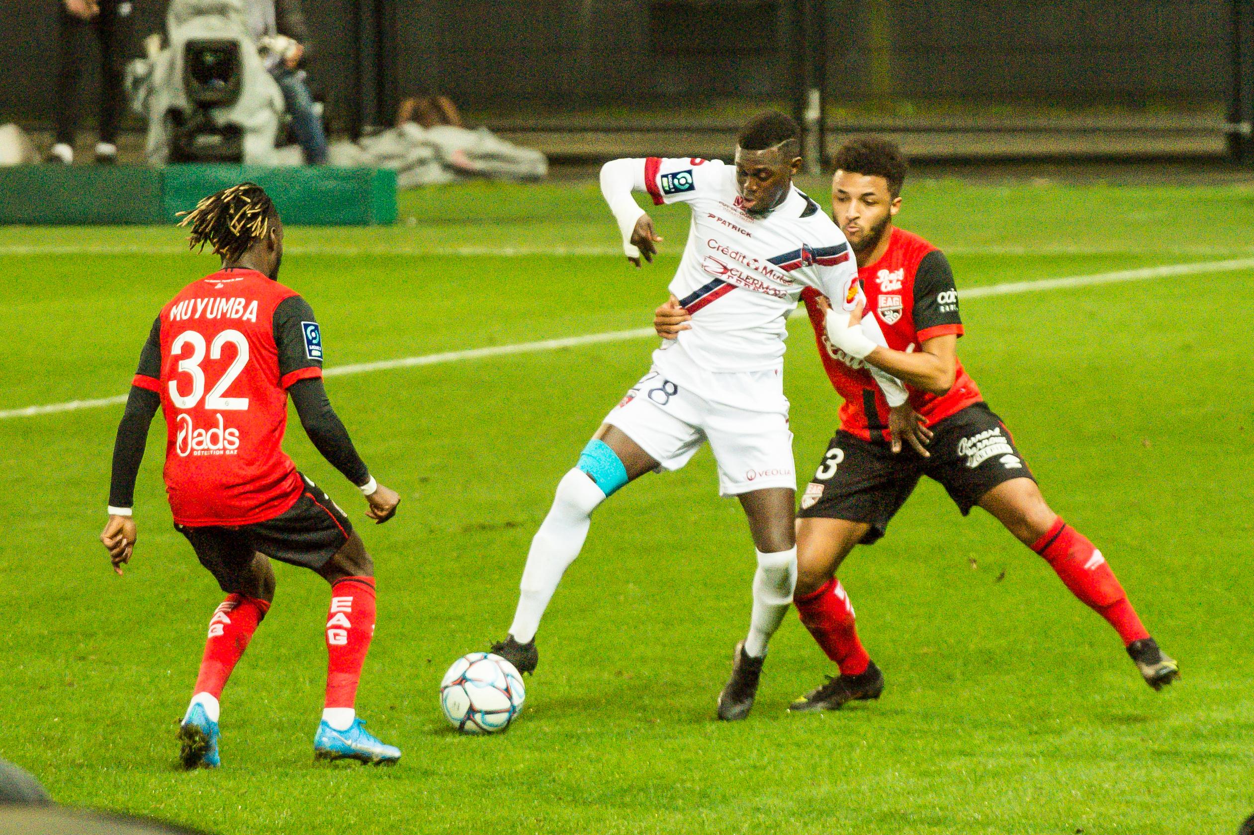 EA Guingamp Clermont Foot 63 0 5 J28 Ligue 2 BKT EAGCF63 _PAS9455
