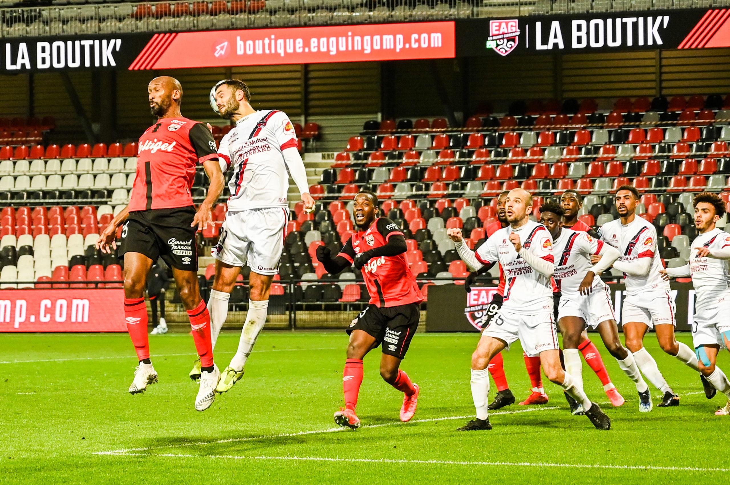 EA Guingamp Clermont Foot 63 0 5 J28 Ligue 2 BKT EAGCF63 DSC_0448