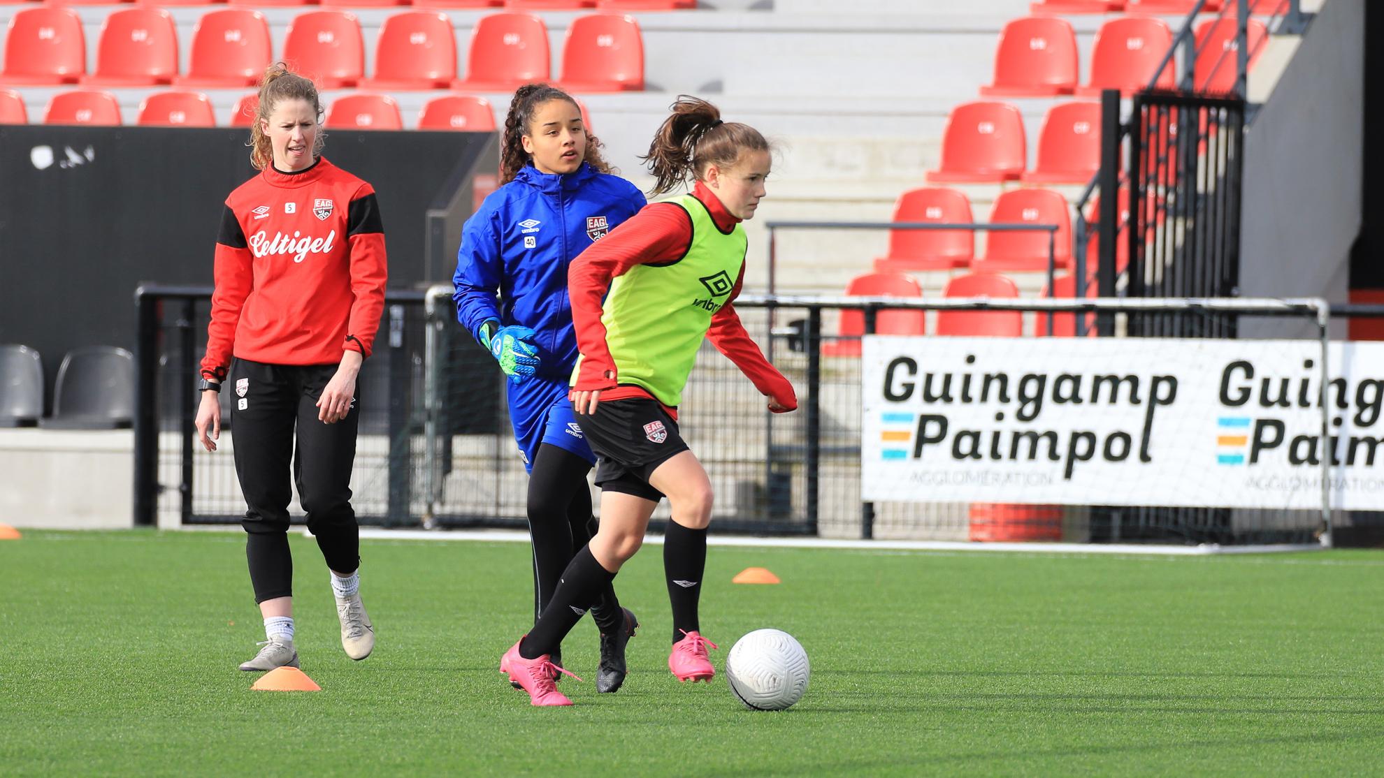 Entraînement féminines 12-3-2021 EAG EA Guingamp En Avant 7