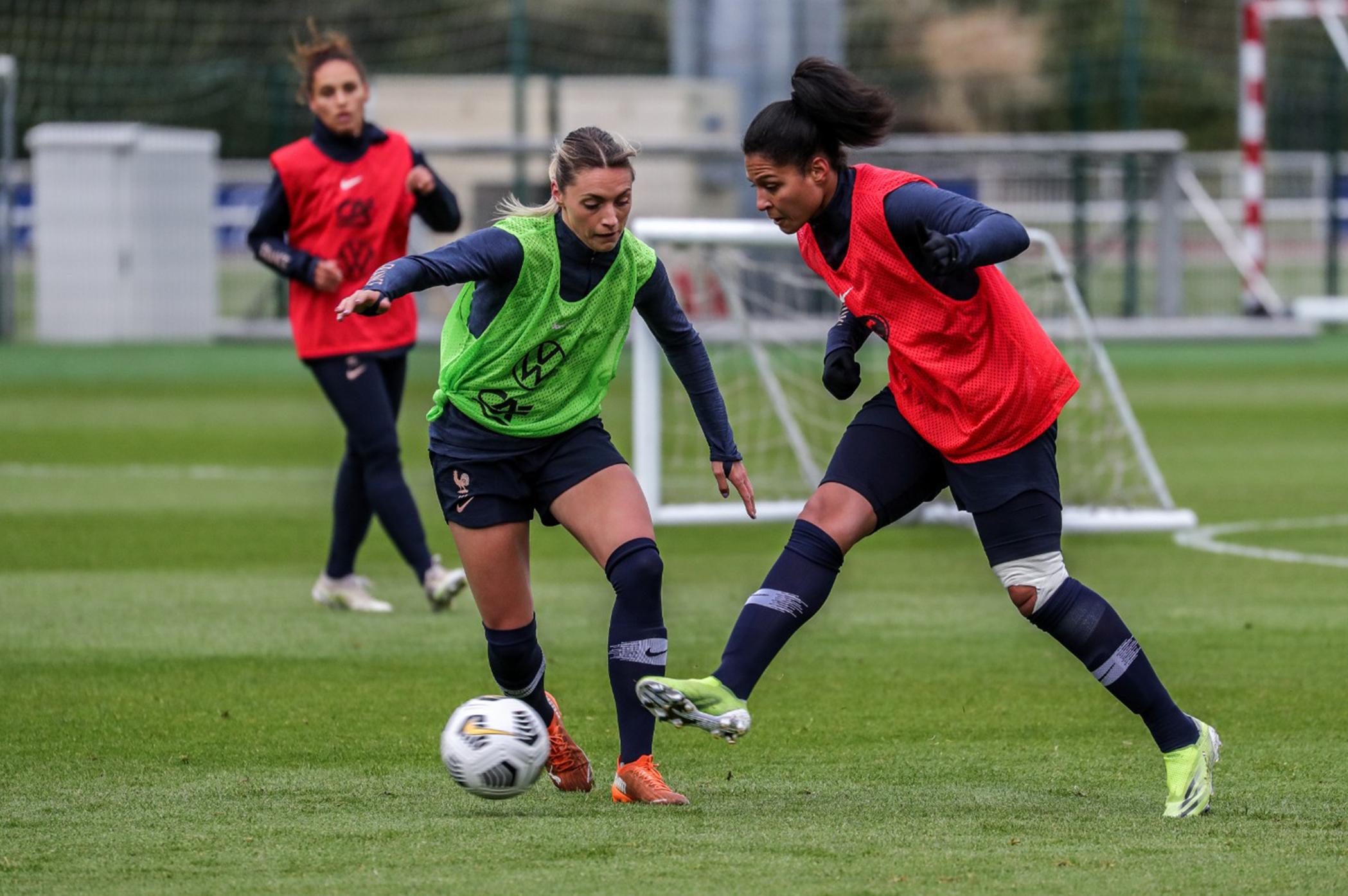 Louise Fleury en Equipe de France A