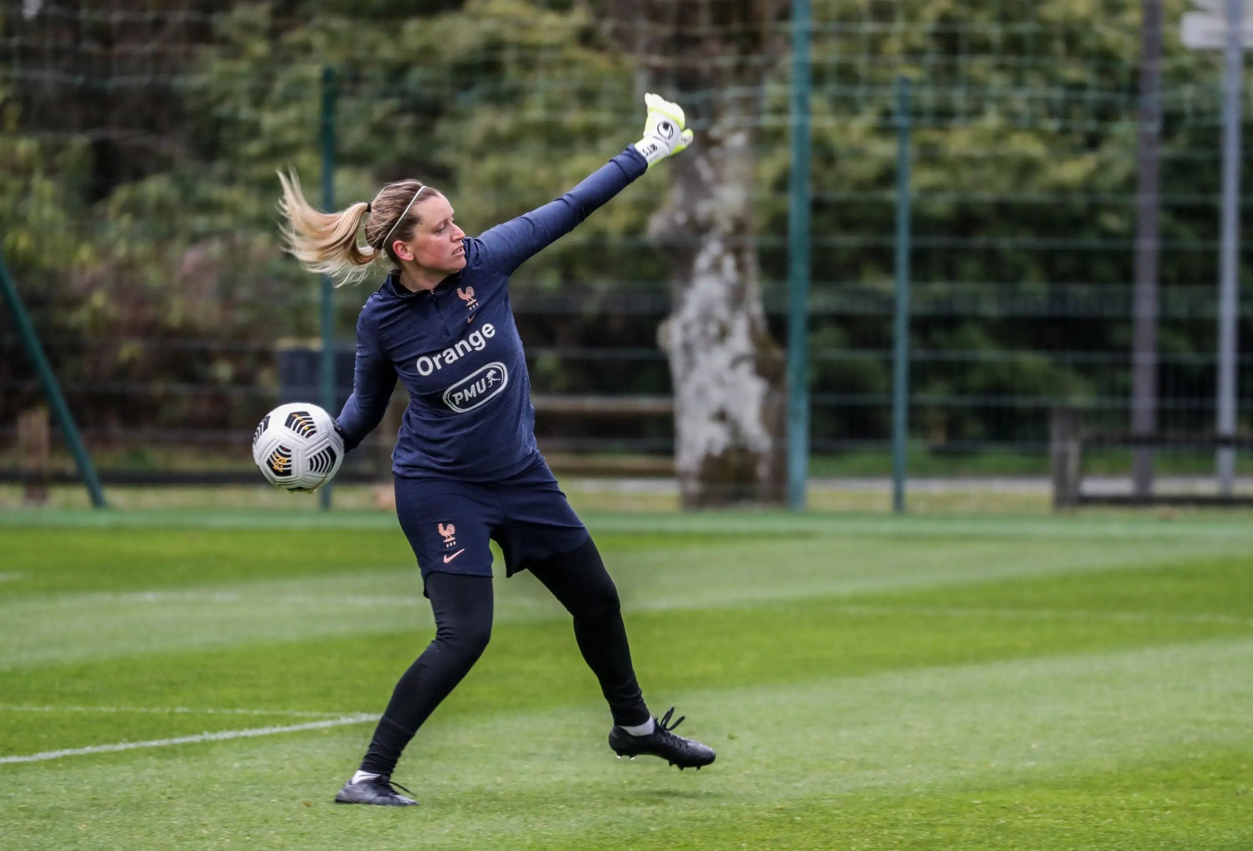 Solène Durand en Equipe de France A Louise Fleury