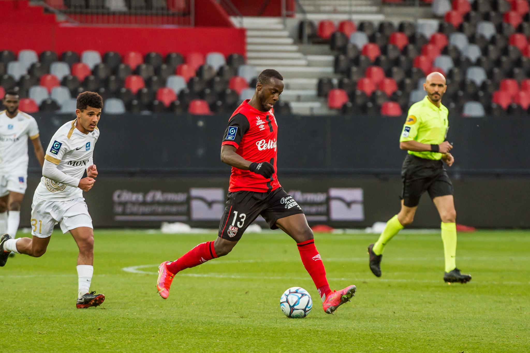 EA Guingamp La Berrichonne Châteauroux J37 Ligue 2 BKT EAGLBC 2-0 Stade de Roudourou FRA_5574