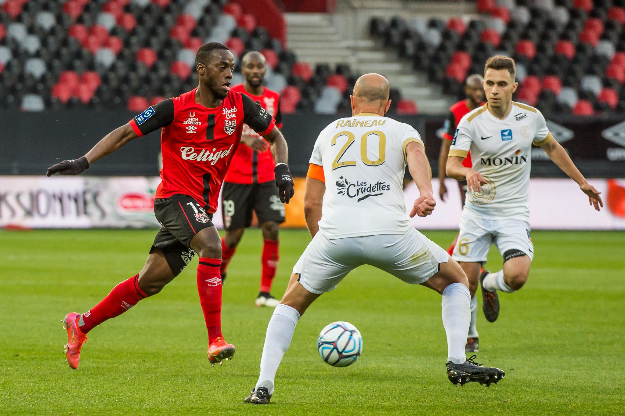 EA Guingamp La Berrichonne Châteauroux J37 Ligue 2 BKT EAGLBC 2-0 Stade de Roudourou FRA_5604
