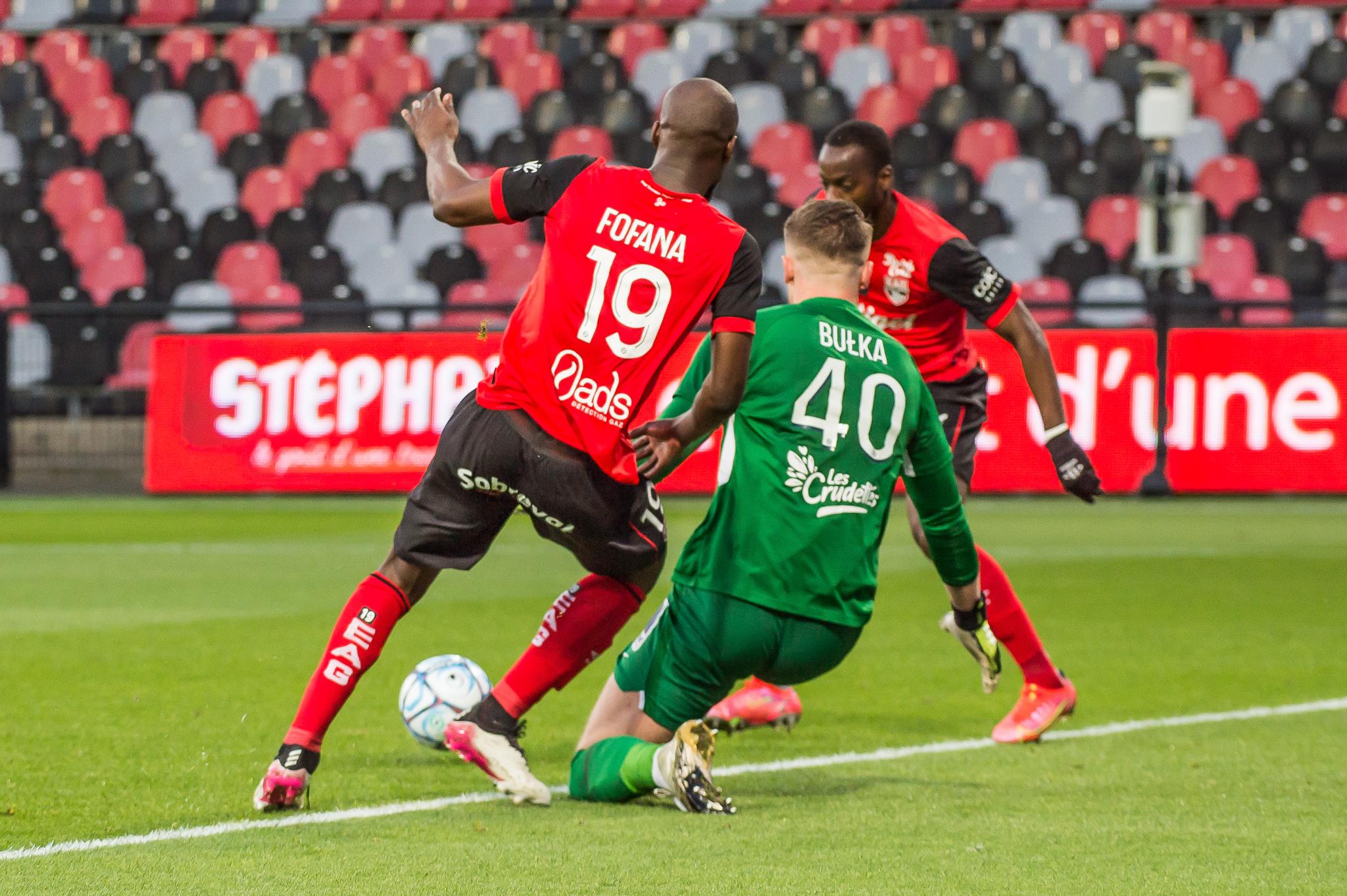 EA Guingamp La Berrichonne Châteauroux J37 Ligue 2 BKT EAGLBC 2-0 Stade de Roudourou FRA_5718