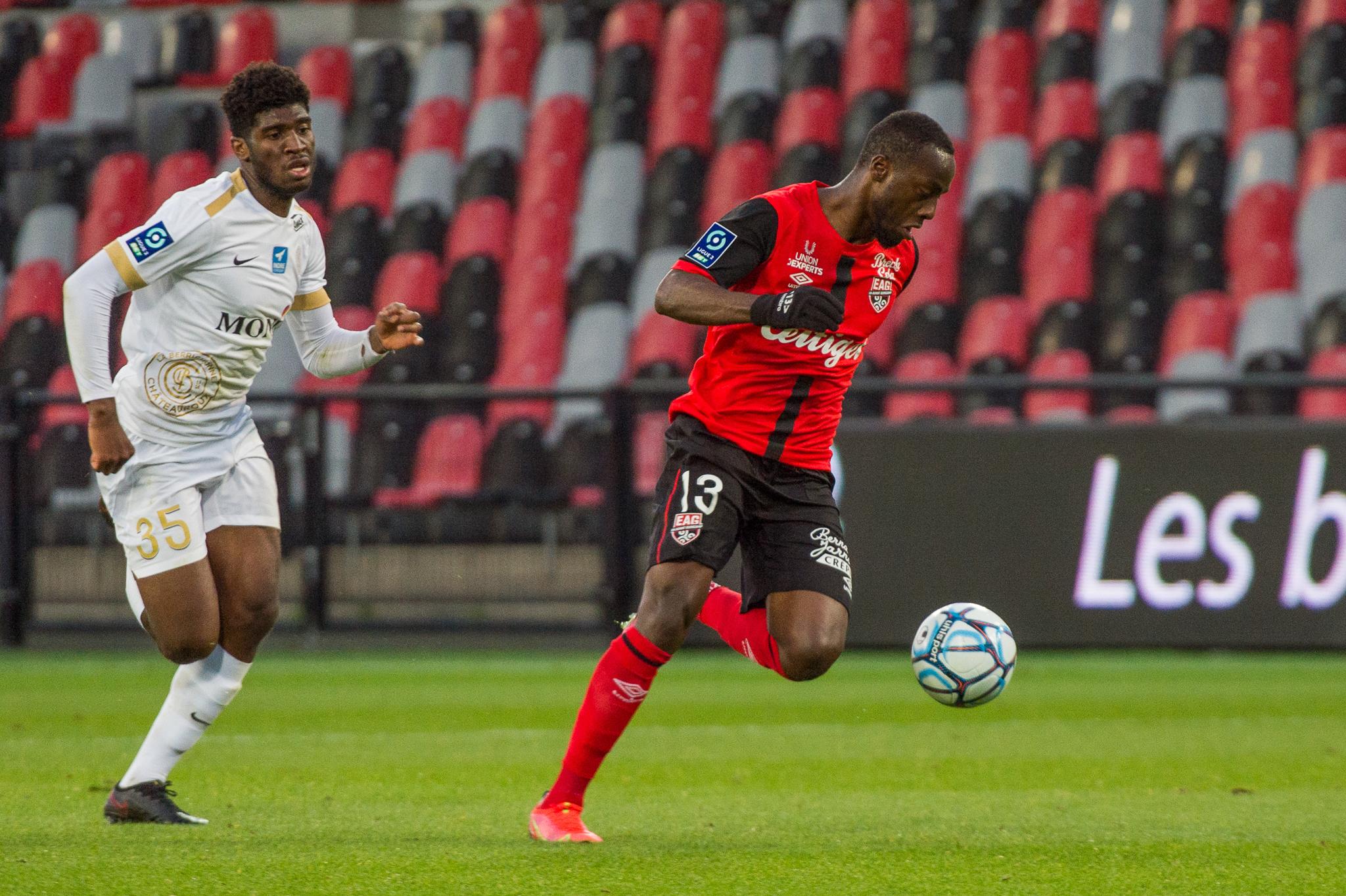 EA Guingamp La Berrichonne Châteauroux J37 Ligue 2 BKT EAGLBC 2-0 Stade de Roudourou FRA_5754