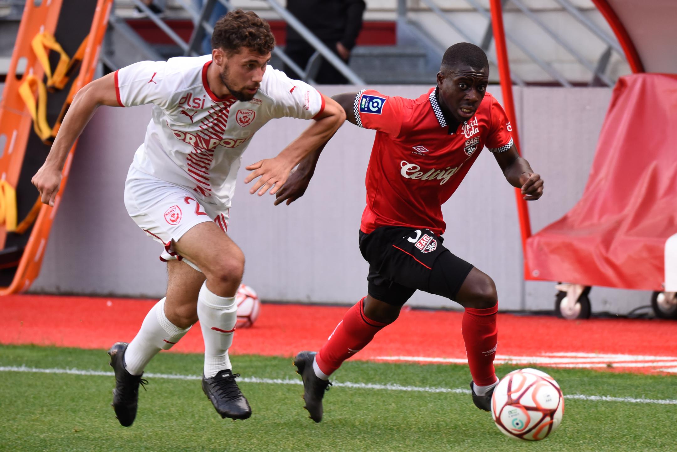 AS Nancy Lorraine EA Guingamp En Avant EAG Match Amical 6 17 7 2021 Ligue 2 BKT Marcel-Picot 1_11