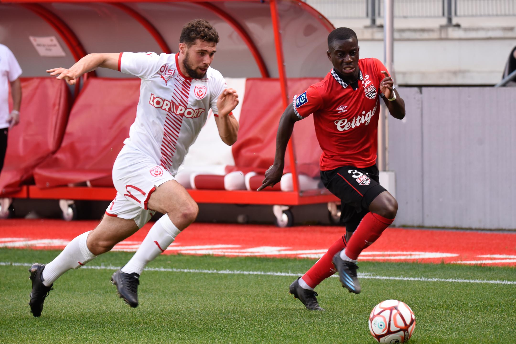 AS Nancy Lorraine EA Guingamp En Avant EAG Match Amical 6 17 7 2021 Ligue 2 BKT Marcel-Picot 1_12