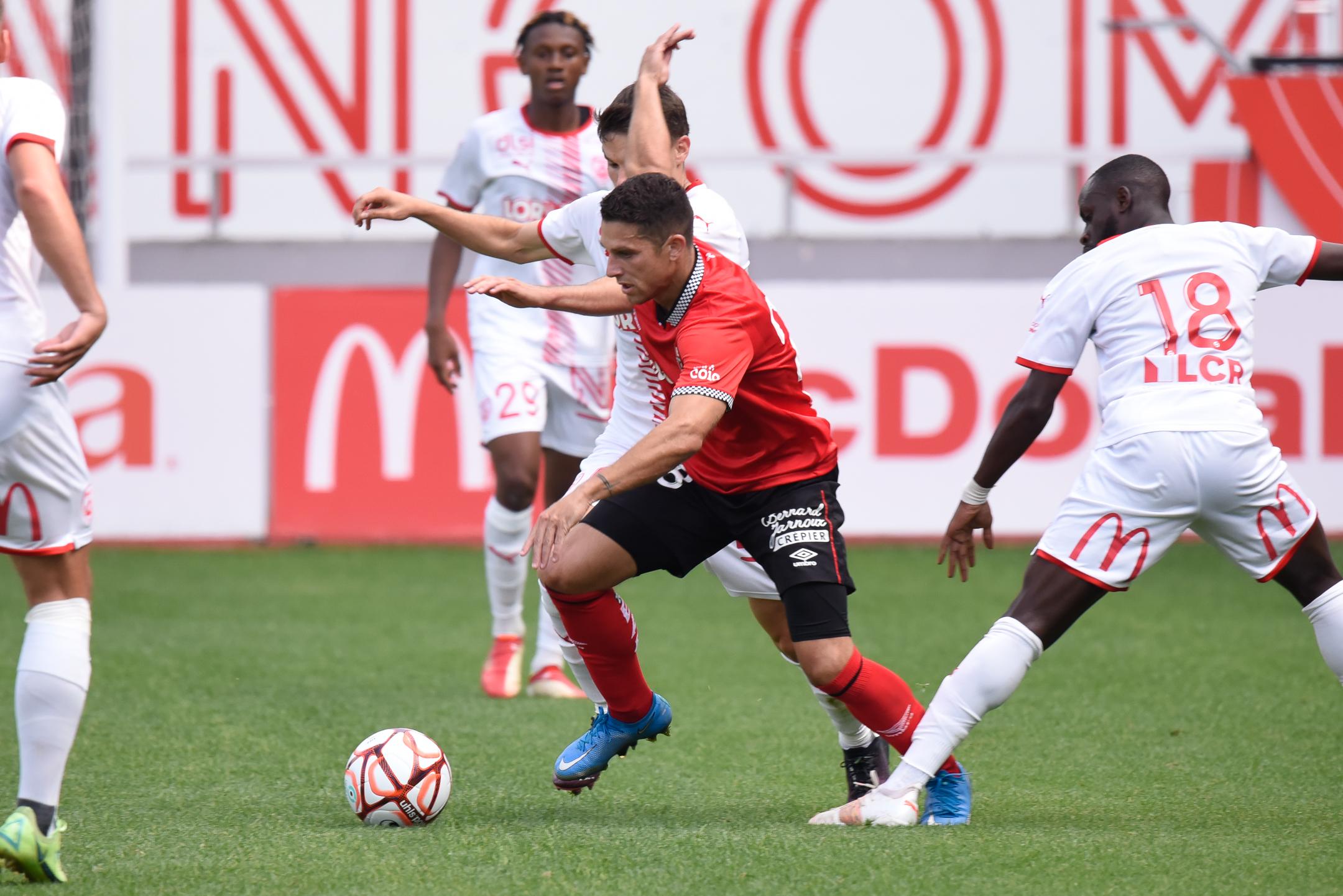 AS Nancy Lorraine EA Guingamp En Avant EAG Match Amical 6 17 7 2021 Ligue 2 BKT Marcel-Picot 1_2
