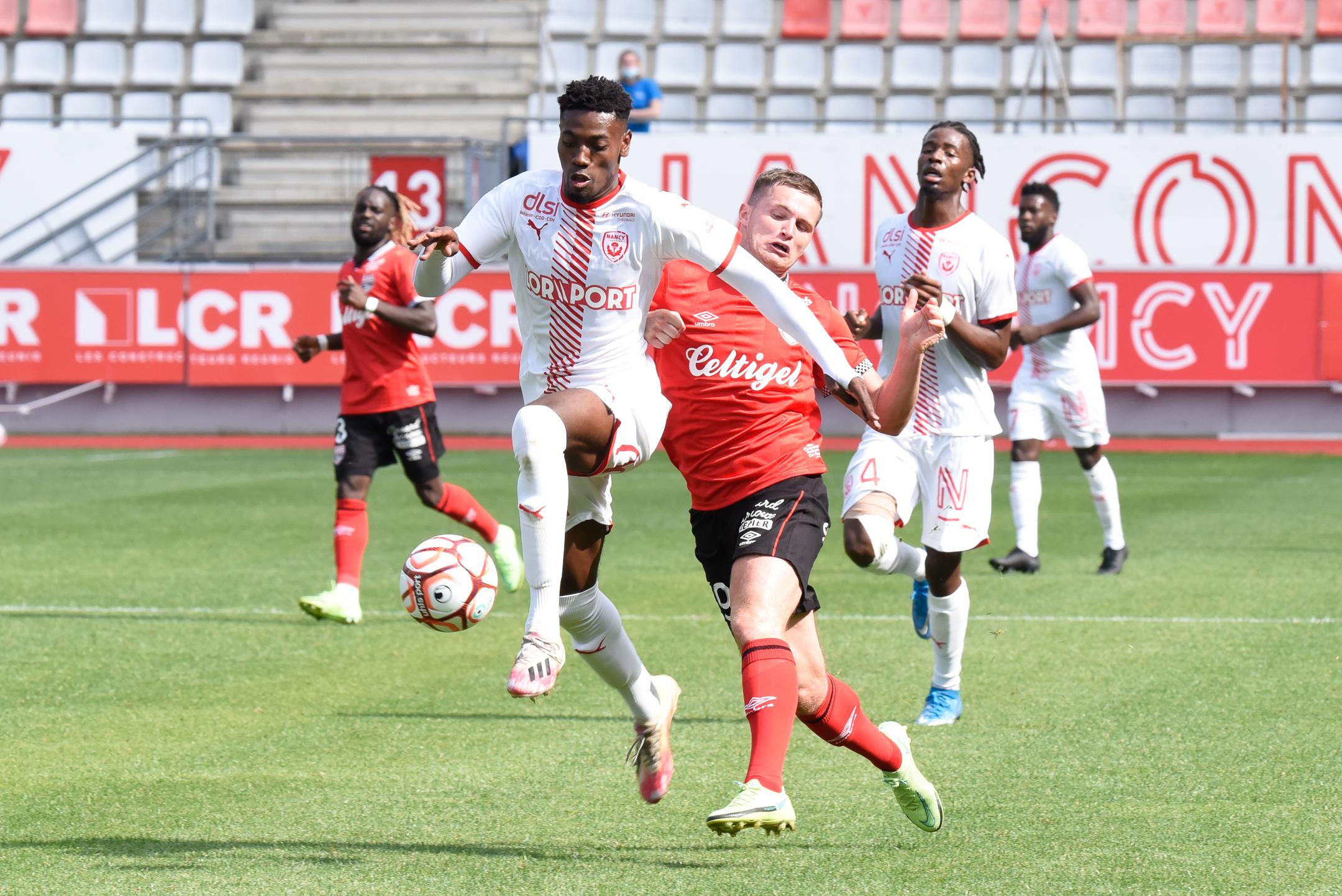 AS Nancy Lorraine EA Guingamp En Avant EAG Match Amical 6 17 7 2021 Ligue 2 BKT Marcel-Picot 1_3