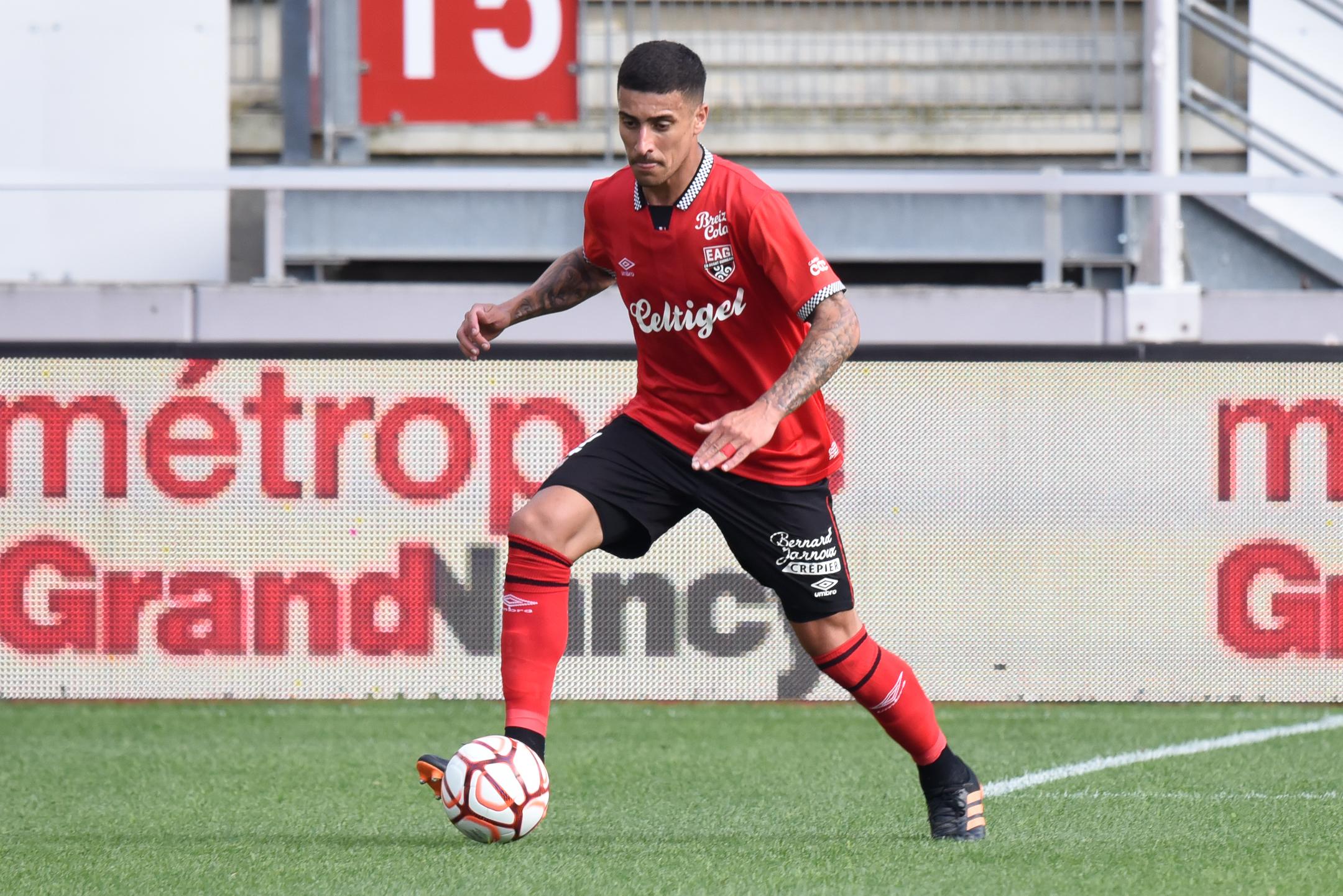 AS Nancy Lorraine EA Guingamp En Avant EAG Match Amical 6 17 7 2021 Ligue 2 BKT Marcel-Picot 1_9