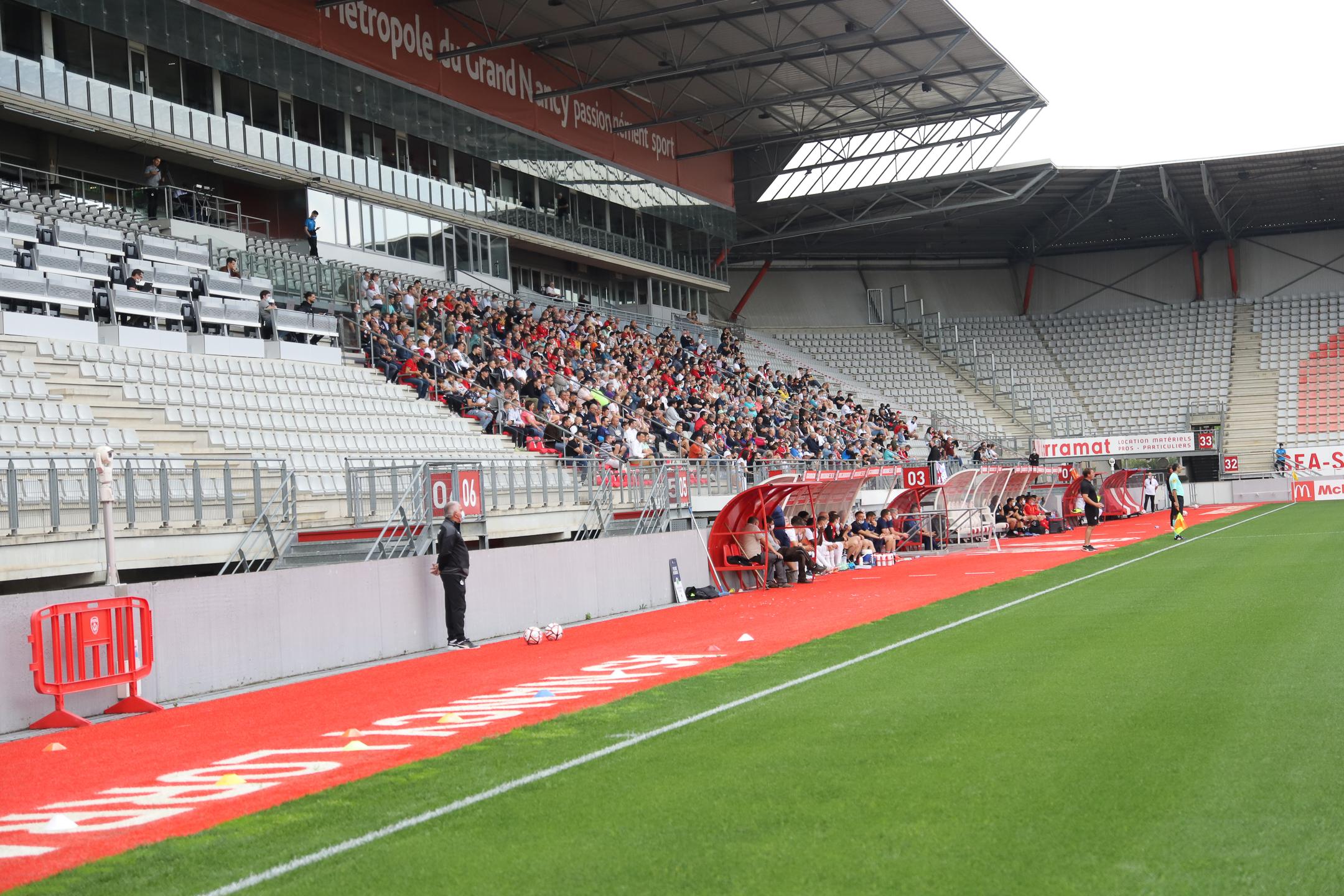AS Nancy Lorraine EA Guingamp En Avant EAG Match Amical 6 17 7 2021 Ligue 2 BKT Marcel-Picot 2_
