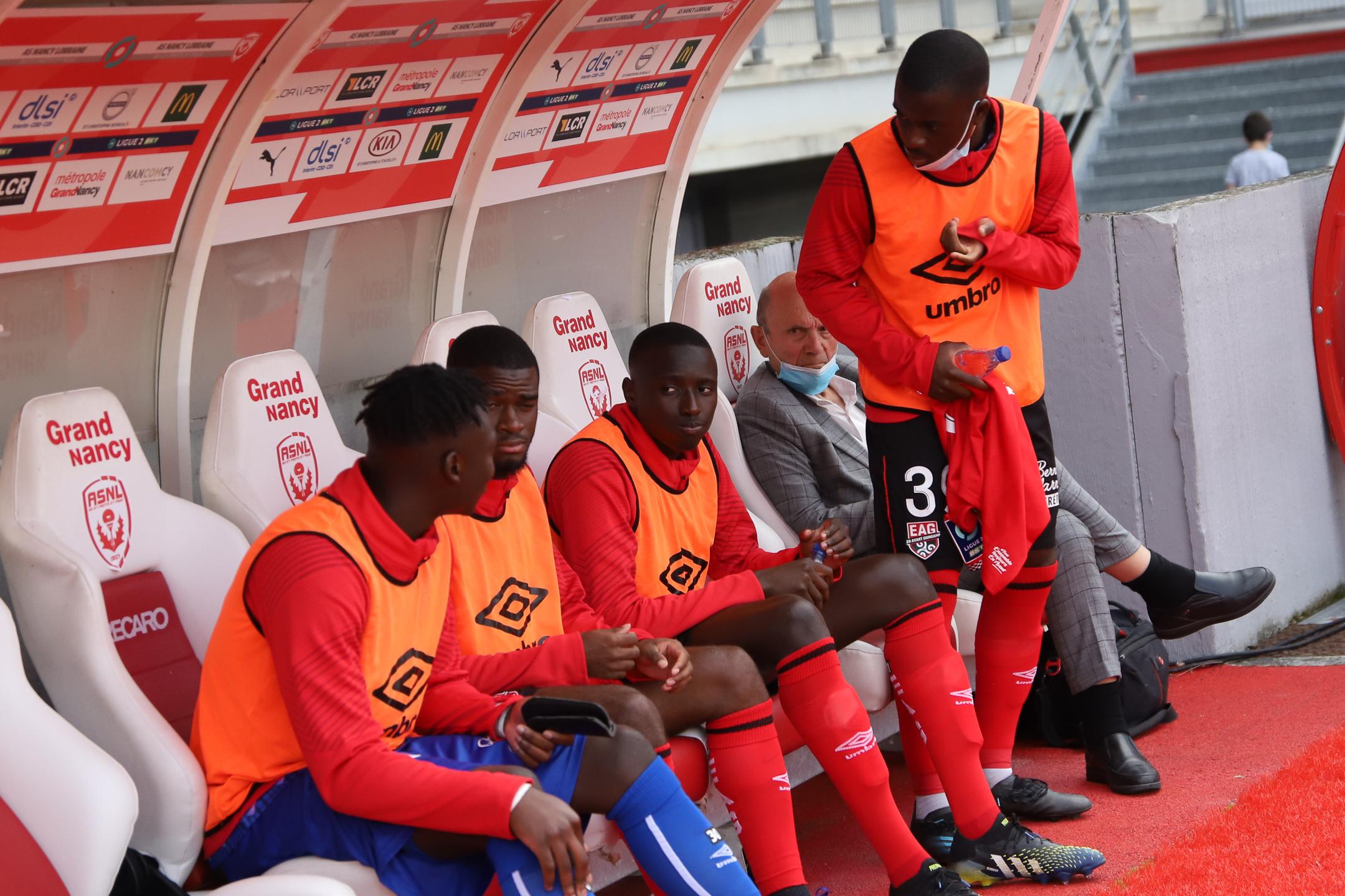 AS Nancy Lorraine EA Guingamp En Avant EAG Match Amical 6 17 7 2021 Ligue 2 BKT Marcel-Picot 2_4