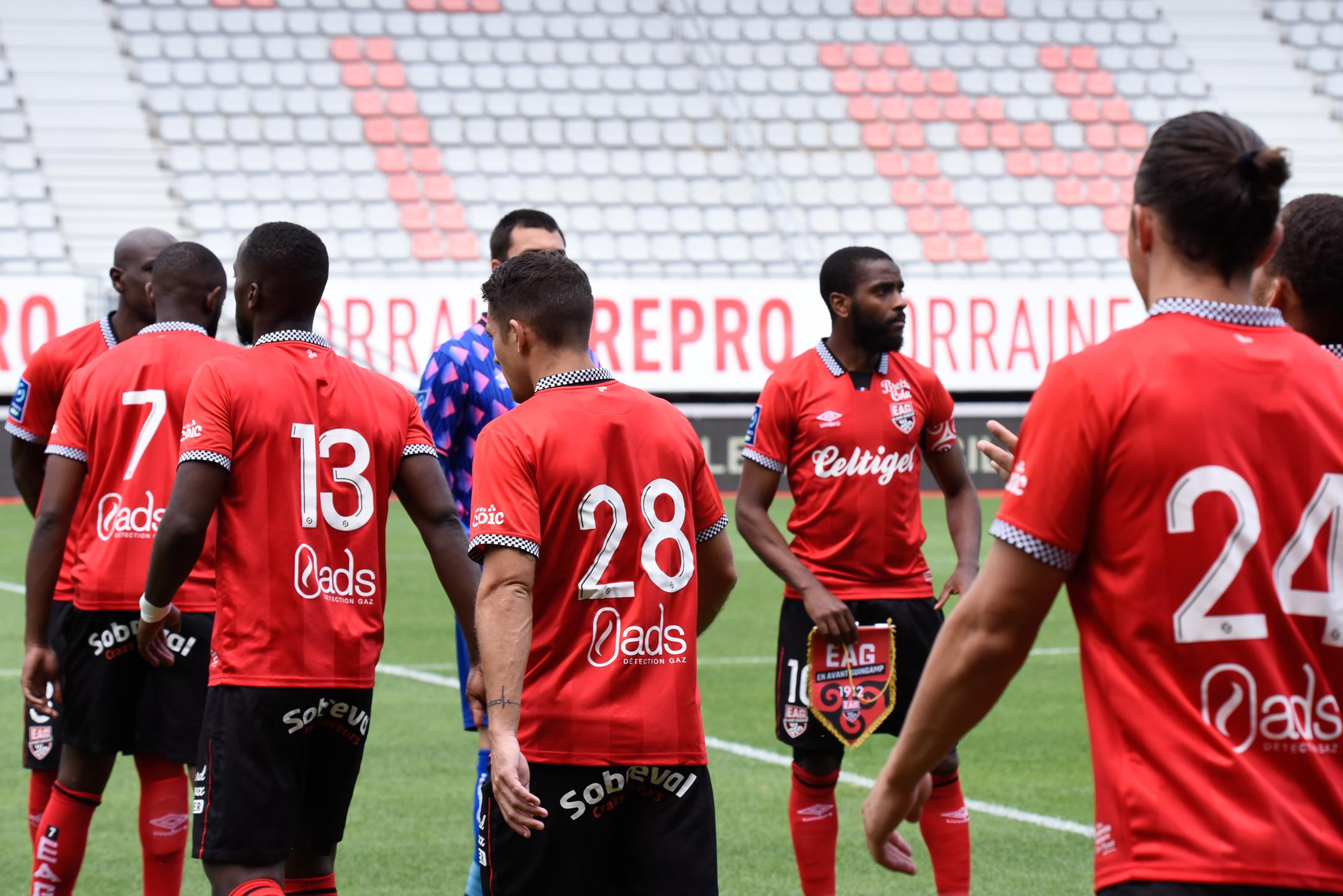 AS Nancy Lorraine EA Guingamp En Avant EAG Match Amical 6 17 7 2021 Ligue 2 BKT Marcel-Picot 3_19