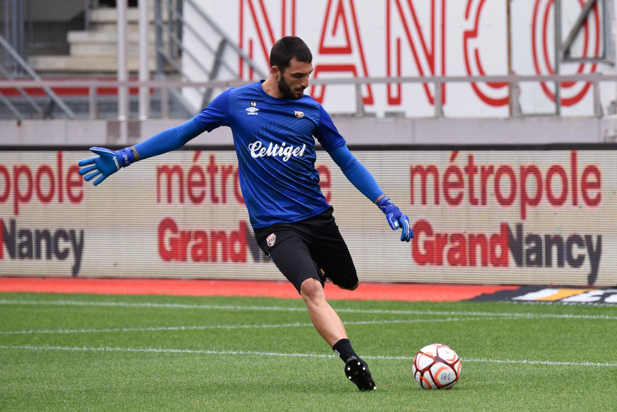 AS Nancy Lorraine EA Guingamp En Avant EAG Match Amical 6 17 7 2021 Ligue 2 BKT Marcel-Picot 3_2