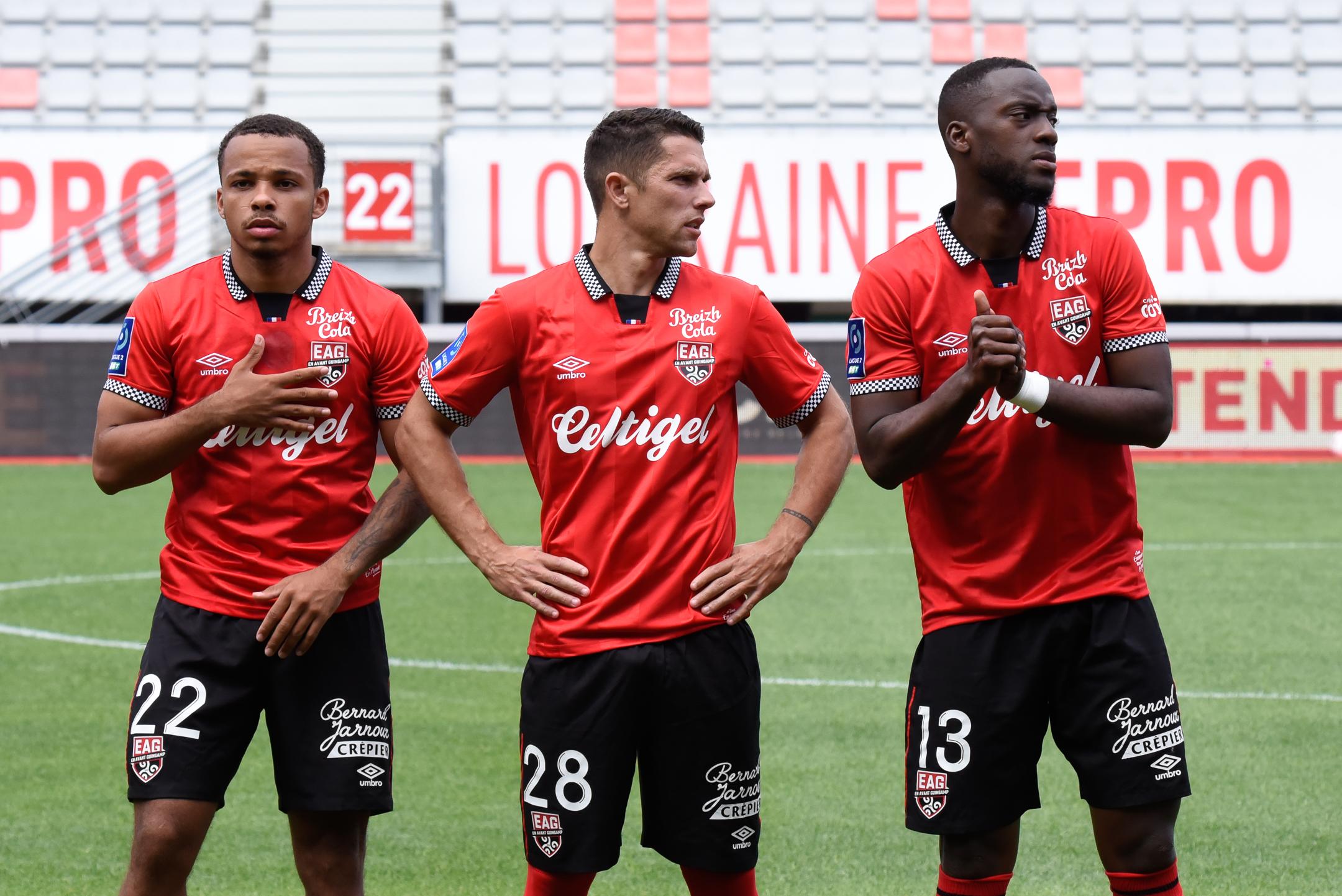 AS Nancy Lorraine EA Guingamp En Avant EAG Match Amical 6 17 7 2021 Ligue 2 BKT Marcel-Picot 3_22