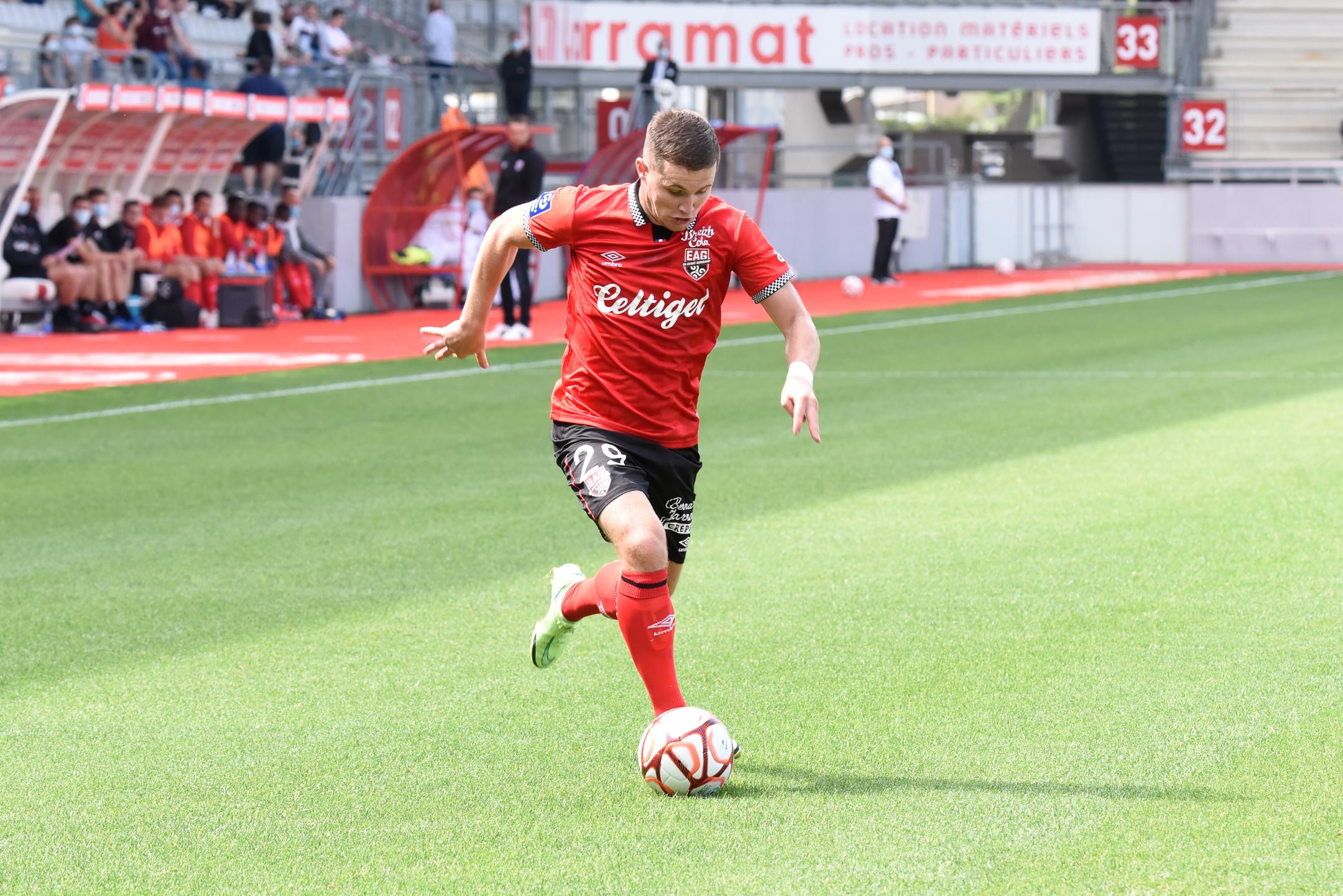 AS Nancy Lorraine EA Guingamp En Avant EAG Match Amical 6 17 7 2021 Ligue 2 BKT Marcel-Picot 3_28