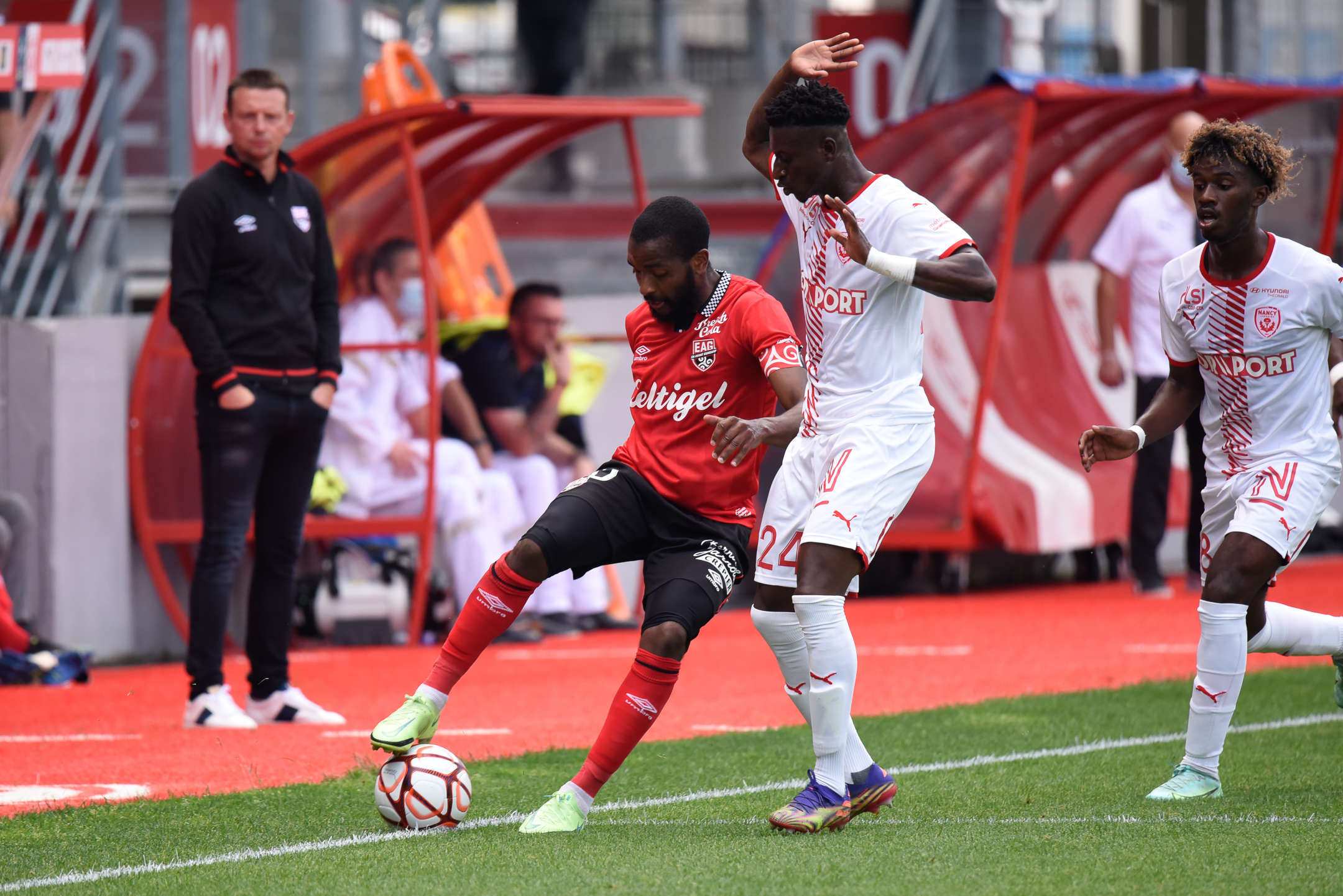 AS Nancy Lorraine EA Guingamp En Avant EAG Match Amical 6 17 7 2021 Ligue 2 BKT Marcel-Picot 3_34