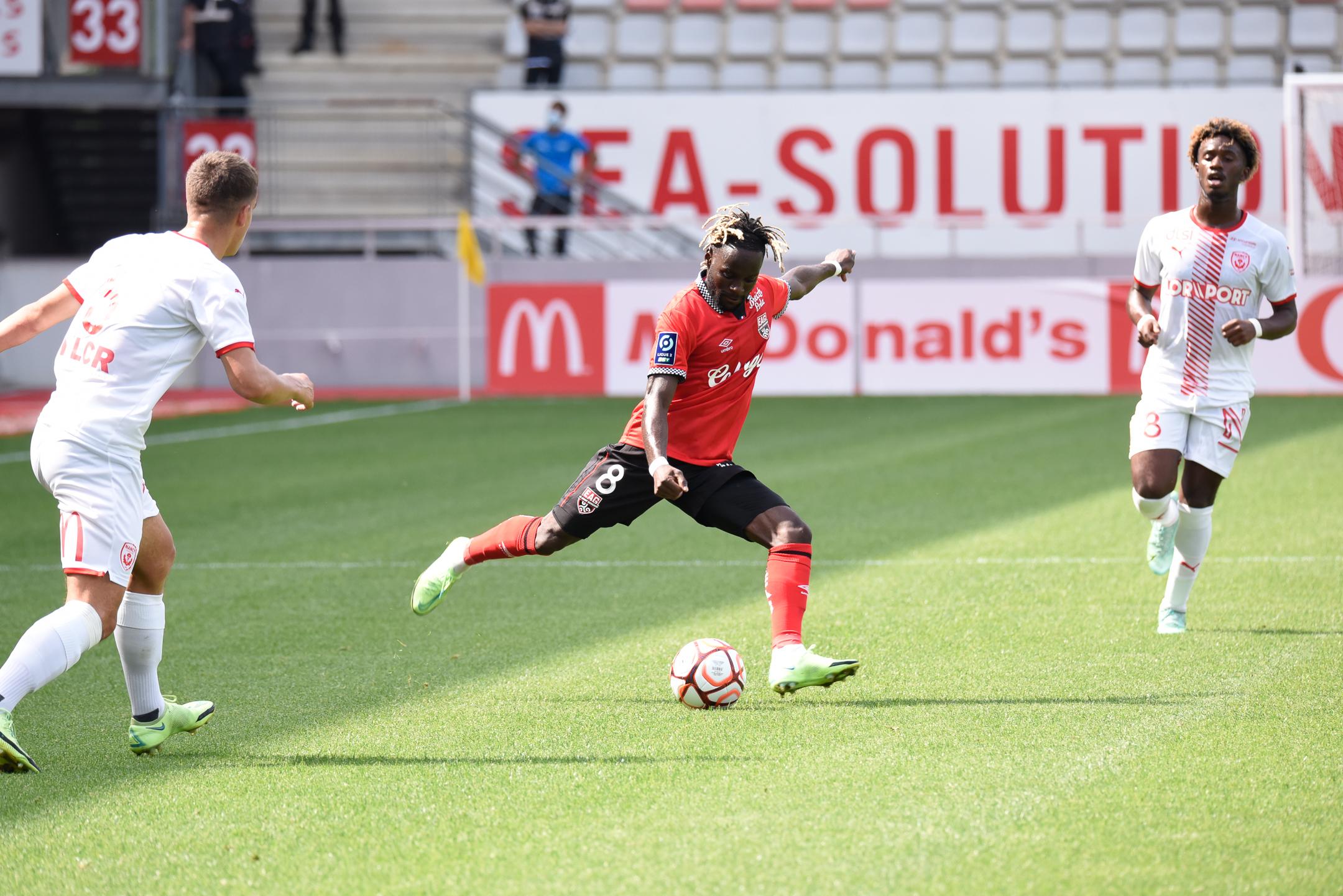 AS Nancy Lorraine EA Guingamp En Avant EAG Match Amical 6 17 7 2021 Ligue 2 BKT Marcel-Picot 3_36