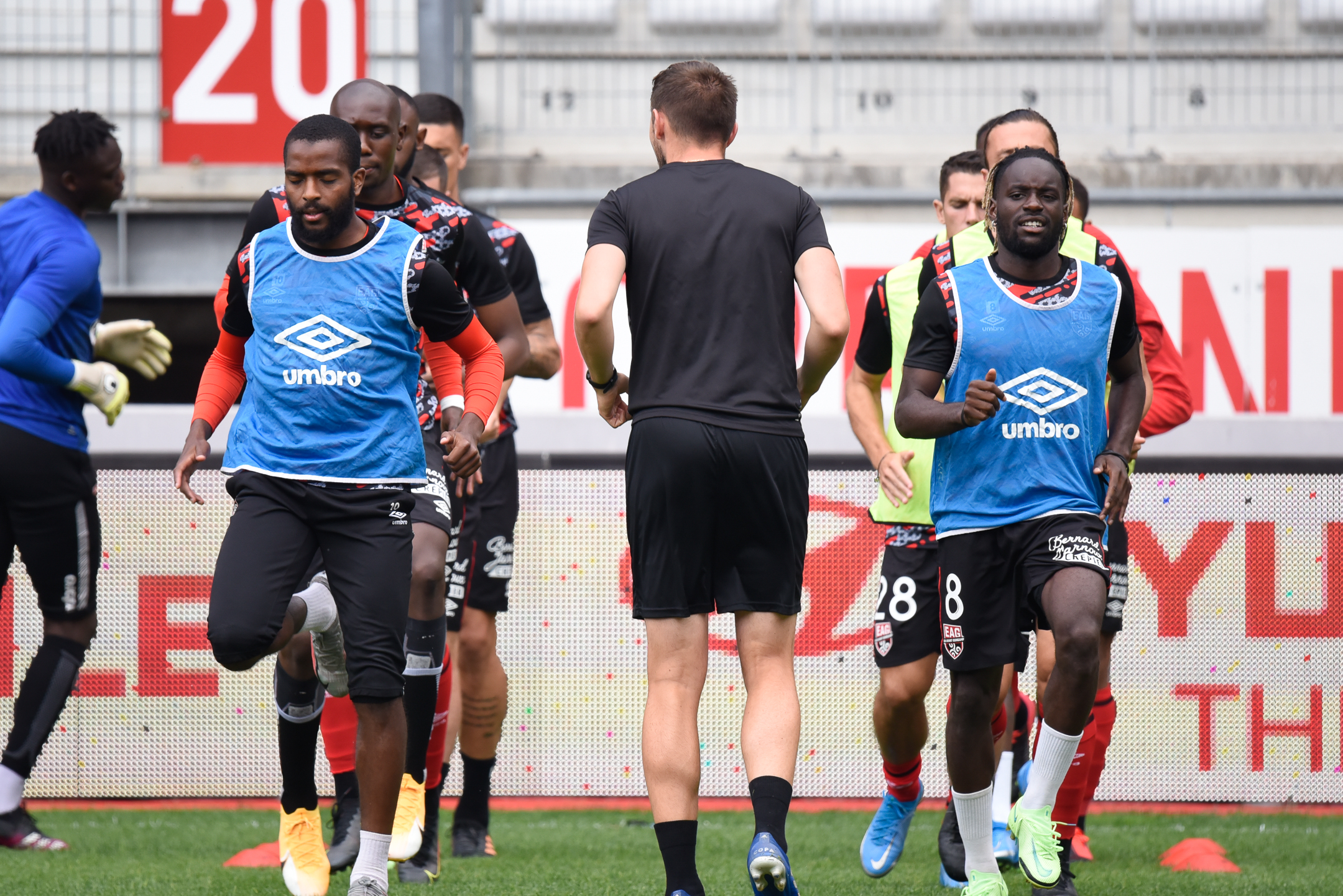 AS Nancy Lorraine EA Guingamp En Avant EAG Match Amical 6 17 7 2021 Ligue 2 BKT Marcel-Picot 3_6