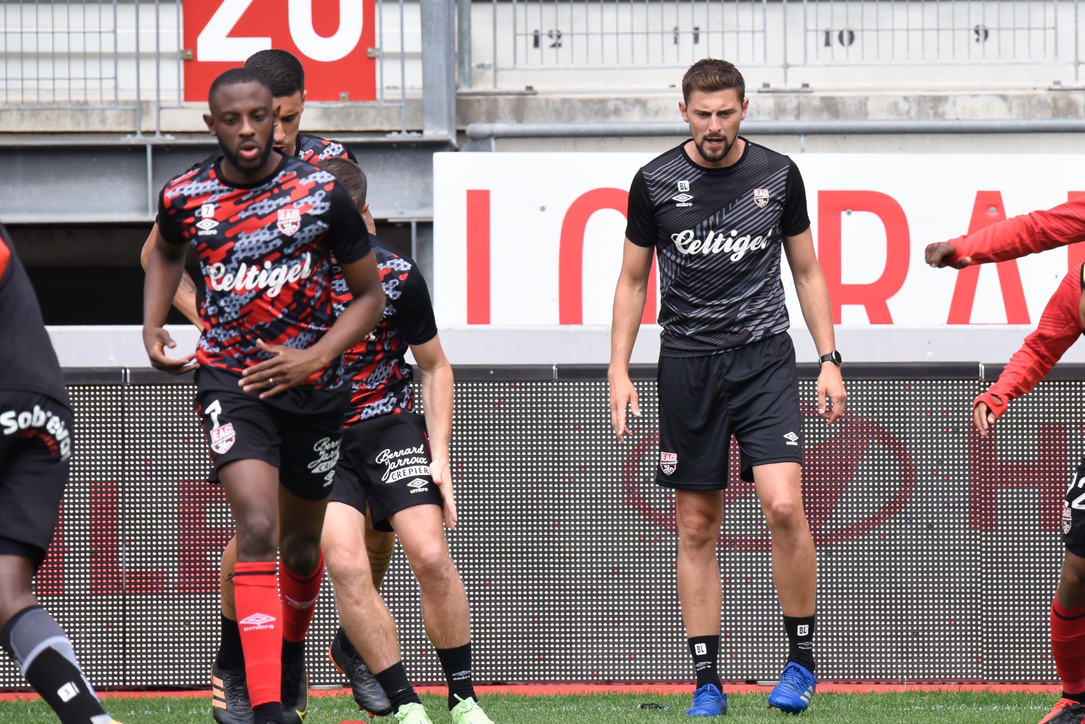 AS Nancy Lorraine EA Guingamp En Avant EAG Match Amical 6 17 7 2021 Ligue 2 BKT Marcel-Picot 3_8