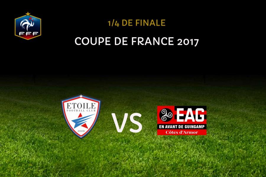 Fr jus eag en 1 4 de la coupe de france en avant de guingamp - Guingamp coupe de france ...